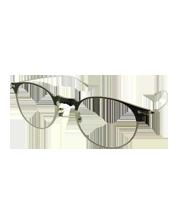 Shawfild 01F15 シルバーフレームメガネ