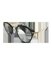505 ボストン型メタルフレームメガネ