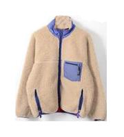 ジップフリースジャケット