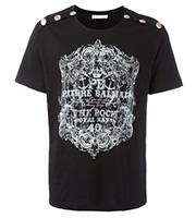 ボタンデザイン Tシャツ