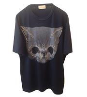 13ss 猫ピアスTシャツ