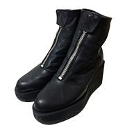 ロングトールコートニー厚底ブーツ