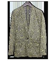 ペンキグラフィックテーラードジャケット