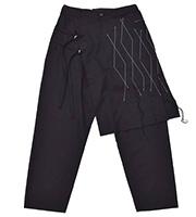 16AW ステッチ スカートパンツ