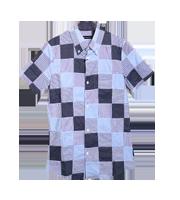 2013AW チェック柄半袖シャツ