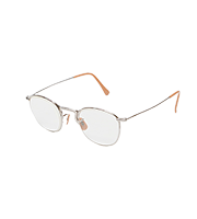×アットラスト ステンレスフレームメガネ