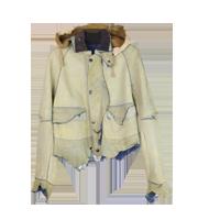 12SS RAIN パッチワークジャケット