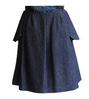 フラップ付きスカート