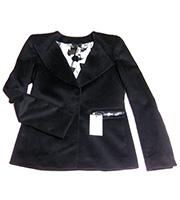 カシミヤ混デザインジャケット