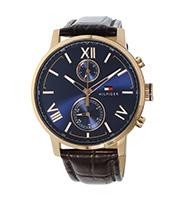 レザーベルト クォーツ腕時計