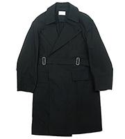 オーバーサイズ ベルテッドコート