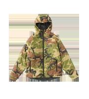 ×マスターピース プリマロフト リバーシブルキルティングジャケット