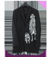 16SSデッサンデザイン3Bジャケット
