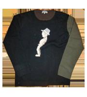 09AW ヒューマンプリントニットセーター