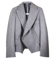 ウール5分袖ジャケット