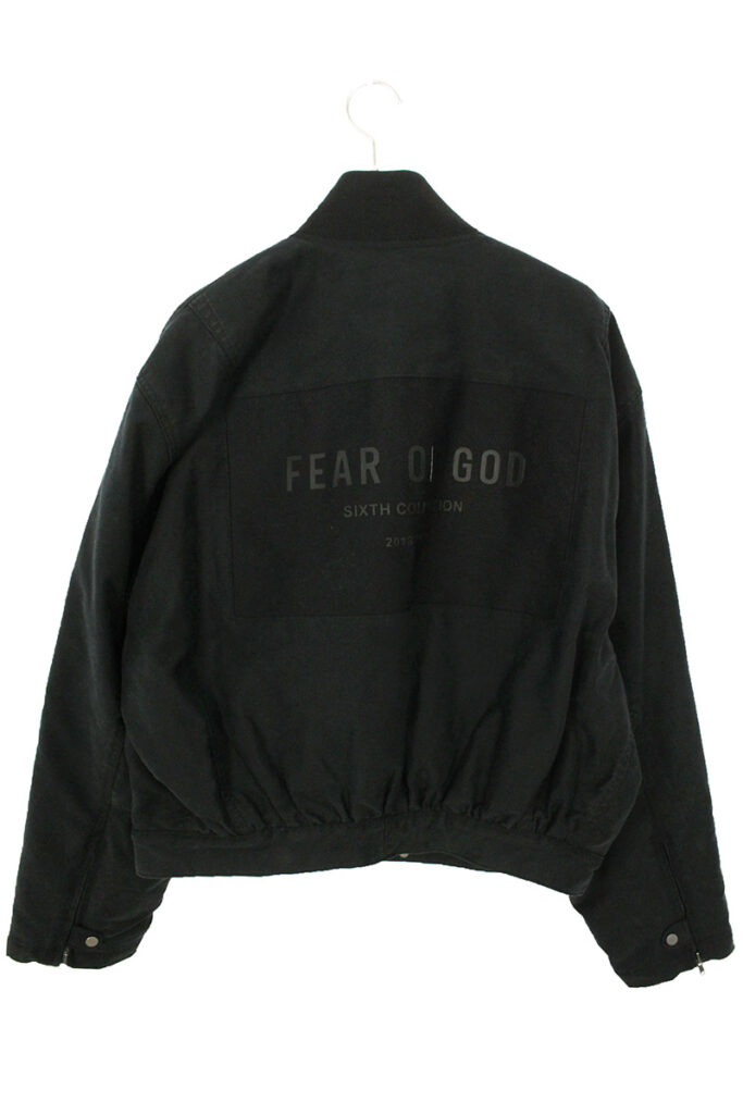 フィアオブゴッド FEAR OF GOD SIXTH COLLECTION バックロゴMA-1ブルゾン