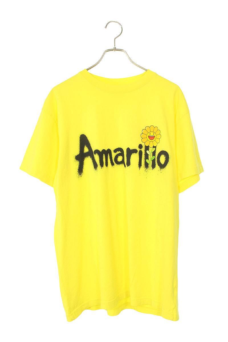 ムラカミタカシ 村上隆 × ジェイバルヴィン J BALVIN AMARILLO SPPRAY PAINT TEE スプレープリントTシャツ