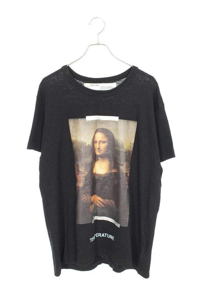 オフホワイト OFF-WHITE MONALISA S/S TEE モナリザプリントTシャツ