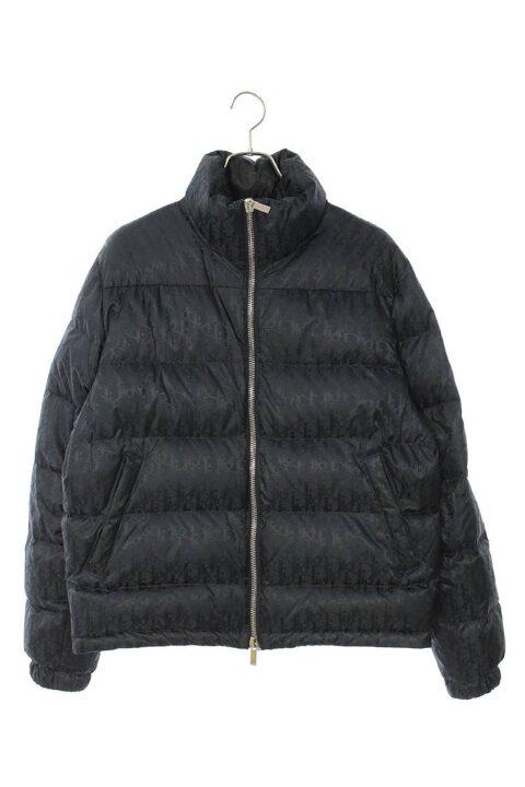 ディオール Dior ロゴ総柄オブリークダウンジャケット