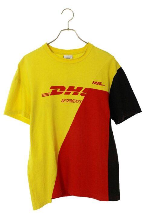 ヴェトモン VETEMENTS DHL再構築ロゴプリントTシャツ