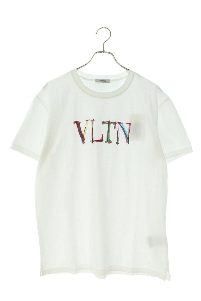 ヴァレンティノ VALENTINO VV3MG10V746 VLTNグラフロゴプリントTシャツ