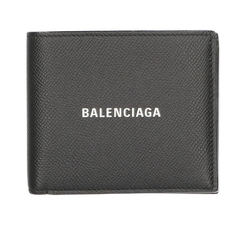 バレンシアガ BALENCIAGA 594315 1IZI3 レザー2つ折財布