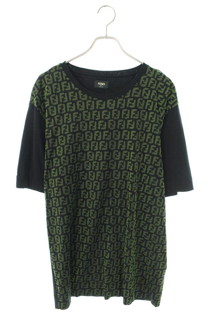 フェンディ FENDI FY0936 A870 ズッカ総柄オーバーサイズTシャツ