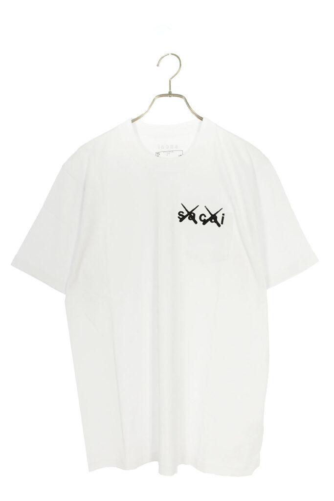 サカイ sacai × カウズ KAWZ Embroidery Tee 21-0285S エンブロイダリーTシャツ 21ss